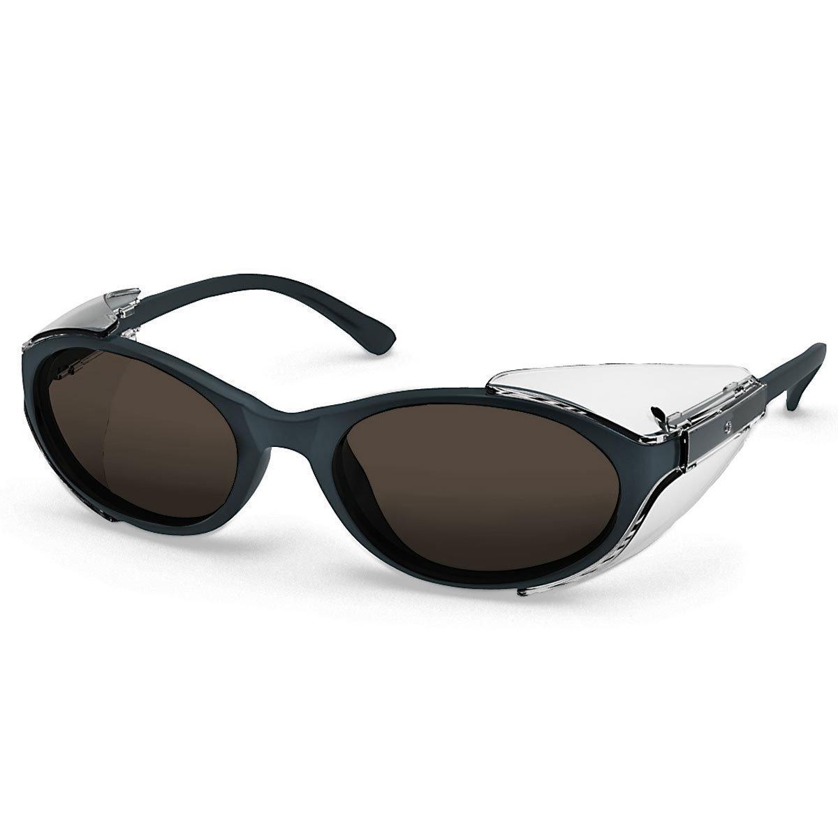 Uvex Korrektionsschutzbrille RX 5504 - braun getönt