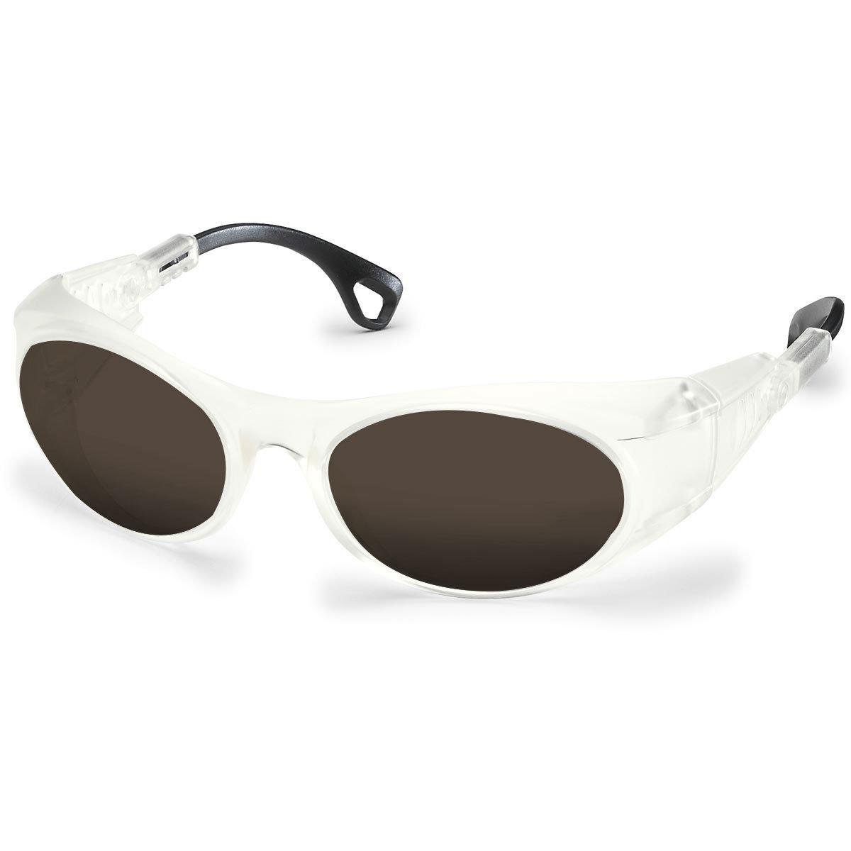 Uvex Korrektionsschutzbrille RX cd 5505 matt - braun getönt