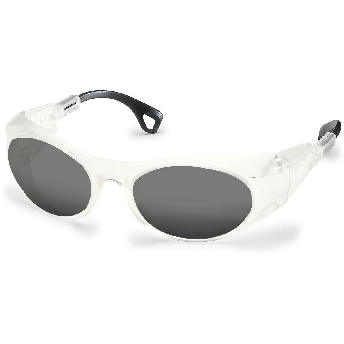 Uvex Korrektionsschutzbrille RX cd 5505 matt - grau getönt