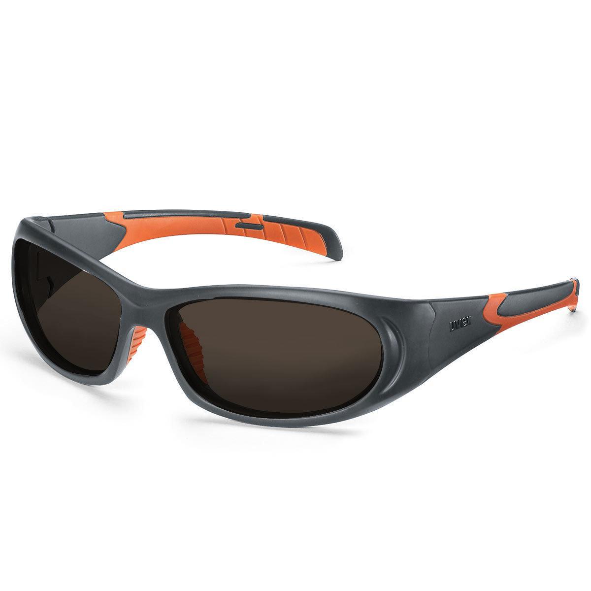Uvex Korrektionsschutzbrille RX sp 5510 - braun getönt